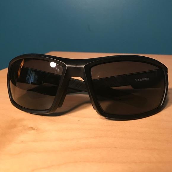 4f14f44cd2 Under Armour Ranger black polarized sunglasses. M 5b1f04b7c61777191d41d173